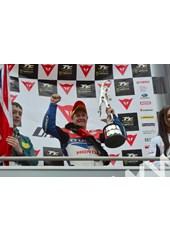 John McGuinness TT 2011 Celebrates Superbike Win