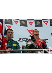 John McGuinness TT 2011 Superbike Podium