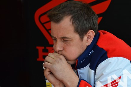 John McGuinness TT 2011 Superbike Pre Race Thoughts - click to enlarge