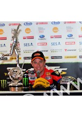 John McGuinness TT 2011 Superbike A Happy Winner