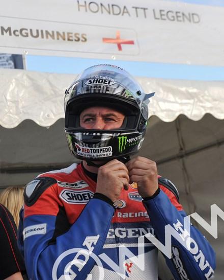 John McGuinness TT 2011 Superbike Race Face