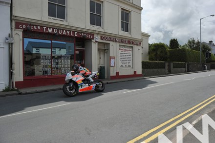 Bruce Anstey TT 2011 Supersport Kirk Michael - click to enlarge
