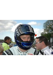 Ian Hutchinson TT 2011 in Helmet