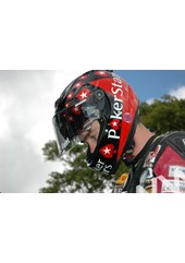 Conor Cummins TT 2011 in Helmet