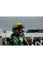 Ian Lougher TT 2011 in Helmet