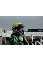 Ian Lougher TT 2011 in Helmet