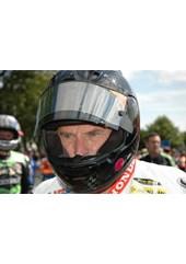 Bruce Anstey TT 2011 in Helmet