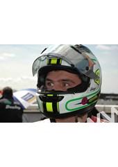 Michael Dunlop TT 2011 in Helmet