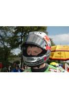 Dan Kneen TT 2011 in Helmet