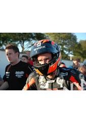 Ryan Farquhar TT 2011 in Helmet