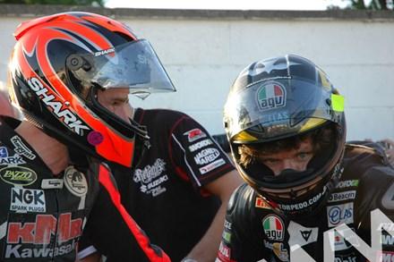 Guy Martin Ryan Farquhar TT 2011 in Helmets - click to enlarge