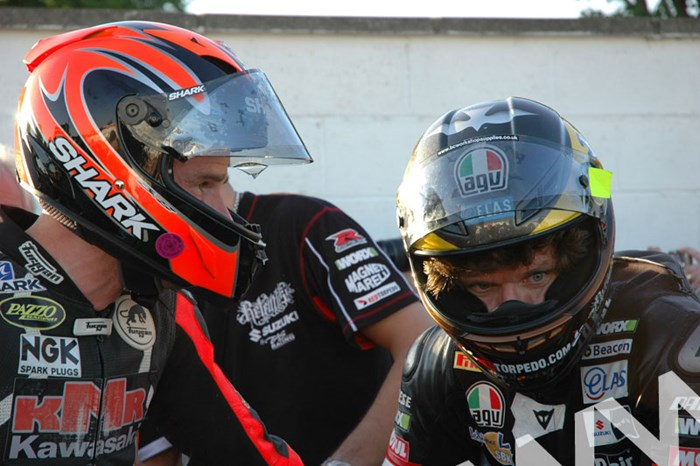 Guy Martin Ryan Farquhar TT 2011 in Helmets - click to enlarge