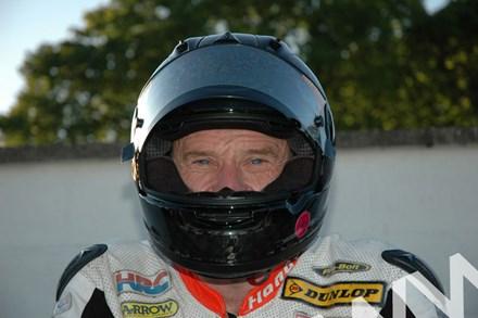 Bruce Anstey TT 2011 in Helmet (2) - click to enlarge