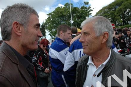 Mick Doohan Giacomo Agostini TT 2011 - click to enlarge