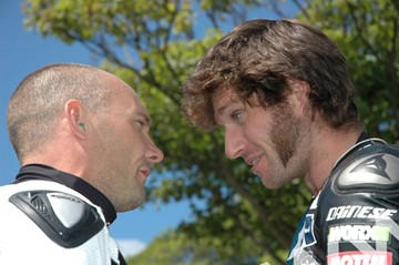 Keith Amor Guy Martin TT 2011 - click to enlarge