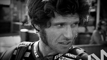 Guy Martin TT 2011 Black and White