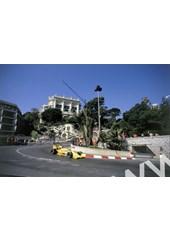 Ayrton Senna (Lotus 99T Honda) 1st position Monaco 1987
