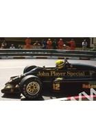 Ayrton Senna (Lotus 98T Renault) Loews Hairpin Monaco 1986
