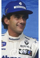 Ayrton Senna (Williams FW16 Renault) Interlagos Brazil 1994