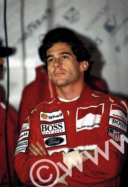 Ayrton Senna (McLaren-Ford)