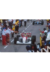 Ayrton Senna final Grand Prix win Australia 1993