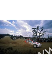 Colin McRae/Nicky Grist (Ford Focus WRC) Safari Rally 1999.