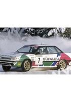 Colin McRae (Subaru Legacy RS) Swedish Rally 1992.
