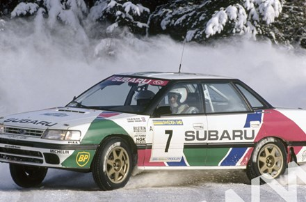 Colin Mcrae Subaru Legacy Rs Swedish Rally 1992 Duke Video