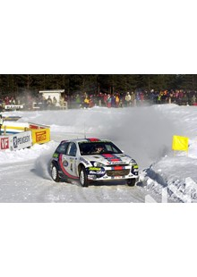 Colin McRae Swedish Rally 2001.