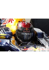 Sebastian Vettel Helmets Monza 2011.