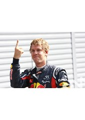 Sebastian Vettel Pole man 2011.