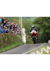Michael Dunlop Munster 100 2011 O'Brien's Leap