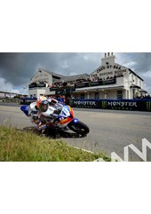Gary Johnson TT 2011 Creg-ny-Baa on way to Supersport win