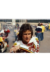 Barry Sheene 1977 British GP