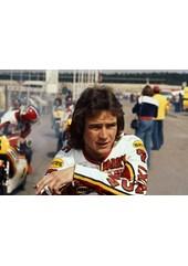 Barry Sheene 1977 British GP