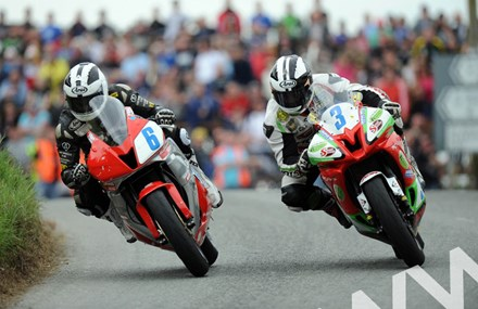 William Dunlop and Michael Dunlop Skerries 100 2011 - click to enlarge
