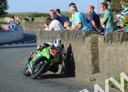Michael Dunlop Southern 100 2011 Church Bends - click to enlarge