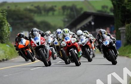 Ulster Grand Prix 2011 Supersport race start