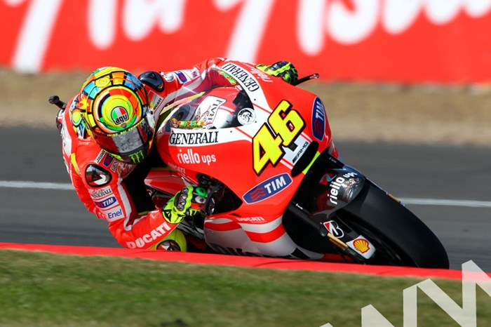 Valentino Rossi MotoGP 2011 Silverstone - click to enlarge