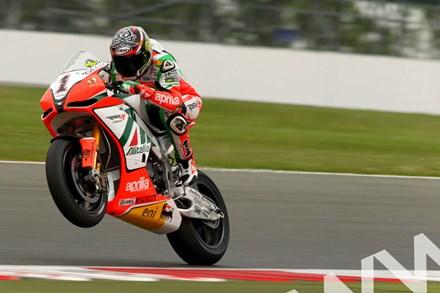 Max Biaggi SBK  2011 Silverstone