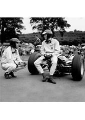 Jim Clark Dan Gurney 1964 Belgium GP