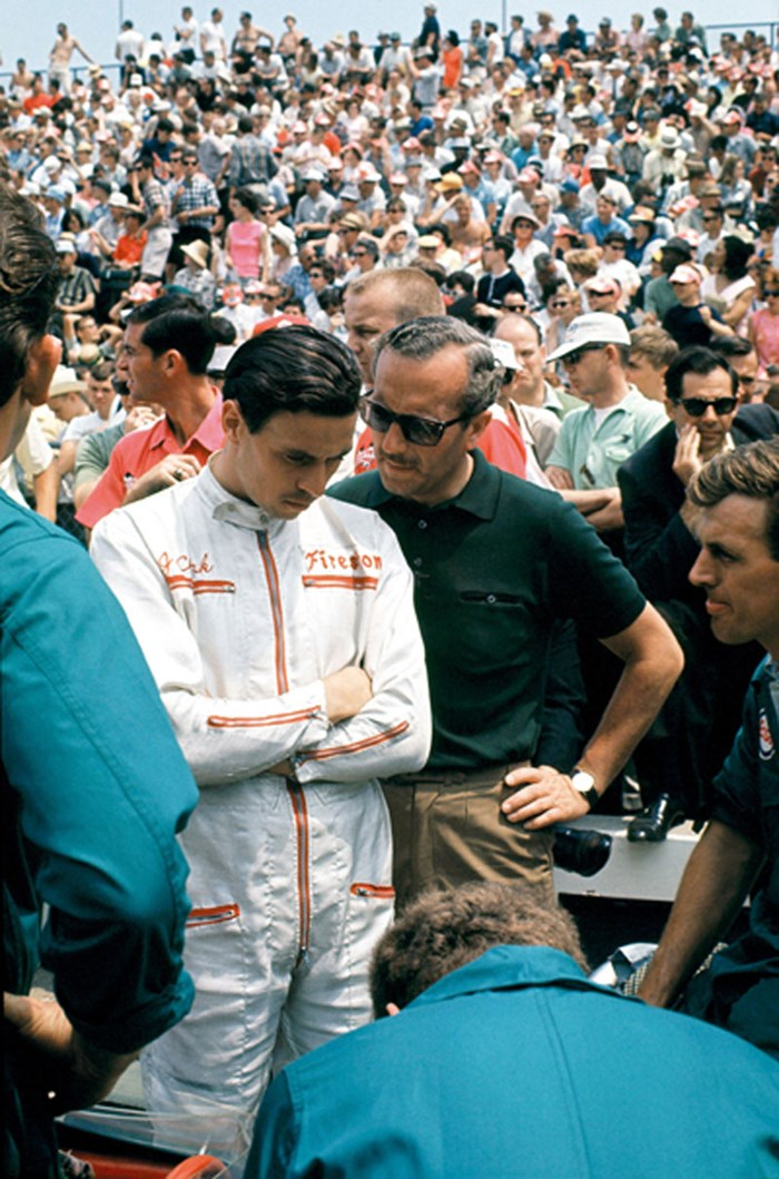 Jim Clark 1965 Indianapolis  - click to enlarge