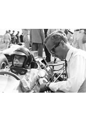 Jim Clark Colin Chapman 1964 Dutch GP