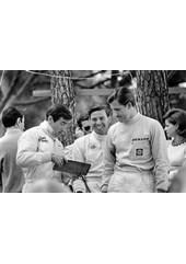 Jackie Stewart Jim Clark Graham Hill 1966 Monaco
