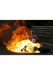 Nitro Nori's Haga Fireball Acrylic