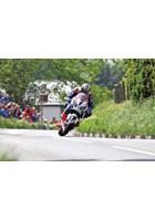 John McGuinness TT 2012 Barregarrow Superbike Race Landscape