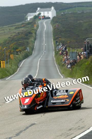 Dave Molyneux Patrick Farrance TT 2012 Creg Ny Baa - click to enlarge