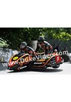 Dave Molyneux Patrick Farrance TT 2012 Ballaugh Bridge