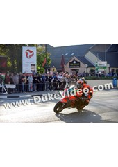 Ryan Farquhar TT 2012 out of Parliament Square.