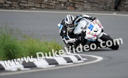 Michael Dunlop TT 2012 Goosneck Supersport 2 race